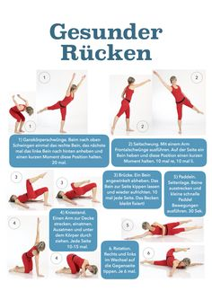 Heute ist Tag der Rückengesundheit! Hier die 10 Minuten daily Rücken Routine!