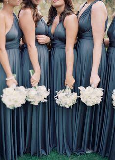 Featured photographer: Rebecca Lindon; bridesmaid dresses;