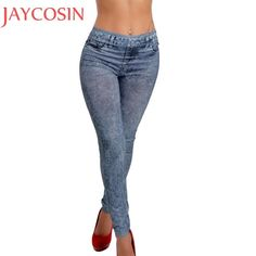 Jeans Women Pencil Pants High Waist Jeans Sexy Slim Elastic Skinny Pants Trousers Fit Lady Bodycon Jeans Oct10