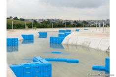 The canoe slalom course is ready to be filled completely. (ATR)