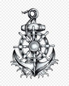Anchor T-shirt Ship's wheel Tattoo Drawing – anchor png is about is about Sy… – Anker kompass – Anchor T-shirt Ship's wheel Tattoo Drawing – anchor png is about is about Sy… – Anker kompass –