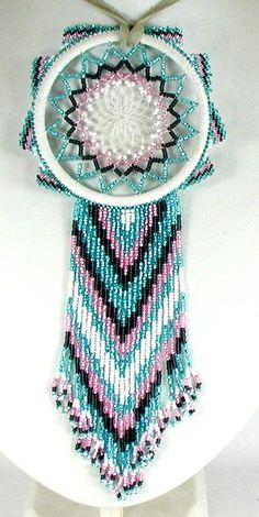 Pandahall provides craft ideas for making handmade jewelries. You can get the amazing craft idea when you buy the materials Indian Beadwork, Native Beadwork, Native American Beadwork, Seed Bead Patterns, Loom Patterns, Beading Patterns, Beaded Crafts, Jewelry Crafts, Bead Jewelry