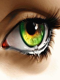 animated gif photo: Eye Animated eye3.gif