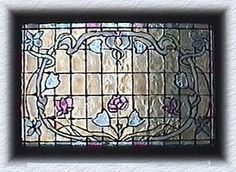 stained glass with backlight tutorial - The Netherlands