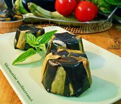 Sformatini mediterranei una ricetta antipasti bella e buona con melanzane e zucchine per un gusto unico ideale per amici o per occasione speciale a buffet
