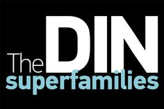 The DIN typeface superfamilies #FreeFont from http://ortheme.com