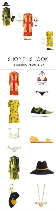 """DRESSES"" by ramakumari ❤ liked on Polyvore featuring Osklen, Miu Miu, NIKE, Michel Vivien, Ann Demeulemeester, Eugenia Kim and Marni"