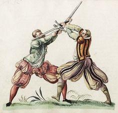 Sword Fighting in Renaissance Europe