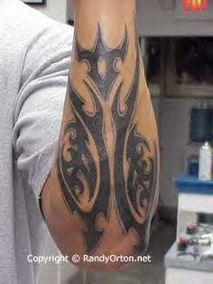 randy orton's tattoos | randy-orton