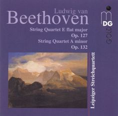 Beethoven: String Quartet E flat minor, Op. 127; String Quartet A minor, Op. 132 [CD]