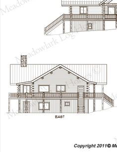 Alpine Lodge Log Home Plans And Prices Kit Is 89k