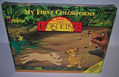 Disney The Lion King My First Colorforms Large Play Set #2406 Jungle NIB Sealed  #Colorforms