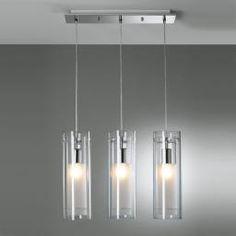 dettagli su lampada lampadario sospensione regolabile acciaio ... - Lampadario Sospensione Cucina