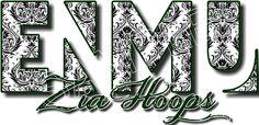 Design name: ENMU Zia hoops 7