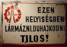 WATCHING FOR PIGS ON THE WING — Táblák a régi TSZ-épületben, Nagyvisnyón fotók:...