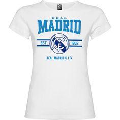 Camieta Mujer Madrid Fans Varios Colores de SportShirtFactory en Etsy