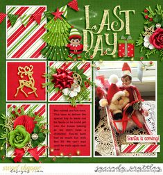 Elf on a shelf - last day - Sweet Shoppe Gallery