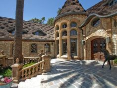 stone houses pictures | Slate Stone House Designed by Ron Firestone | Luxury House Design