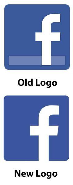 Facebook's logo got a simple, yet sleek redesign.