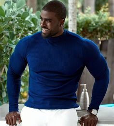 Be the best version of you. Black Muscle Men, Fine Black Men, Gorgeous Black Men, Hot Black Guys, Handsome Black Men, Black Boys, Fine Men, Beautiful Men, Black Man