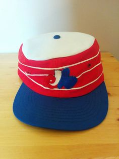 3c5252f674d RESERVED Vintage 1970s Montreal Expos flat top baseball hat Baseball Hats