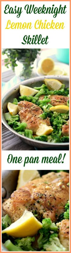 Lemon Chicken Skillet Recipe - delicious! (Paleo, Whole30, Gluten Free)