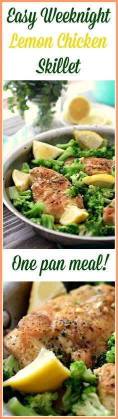 Lemon Chicken Skillet Recipe - delicious! (Paleo, Whole30, Gluten Free)