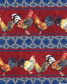 Kaffe Fassett's Quilts in the Cotswolds Quilt fabric online store Largest Selection, Fast Shipping, Best Images, Ship Worldwide Fabric Online, Fabric Panels, Bird Feathers, Photo Wall, Ocean, Textiles, Birds, Roosters, Quilts