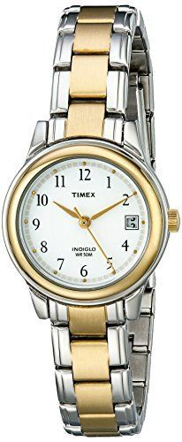Timex Womens Fashion TwoTone Bracelet T25771 ** To view further for this item, visit the image link.