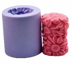 Want To Make Beautiful Candles? Be creative. Be Unique. Be YOU! Description: 1 Pcs Candle Mold Material: Silicone, Rubber, food-grade silicone (FDA standard) Color: Random Mold size:7.5*6.5 cm Cost: $