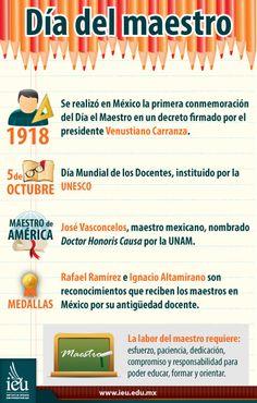 Infografías IEU - Día del Maestro