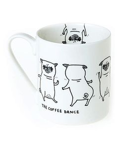 Pickle Parade Coffee Dance Mug | The Brilliant Gift Shop