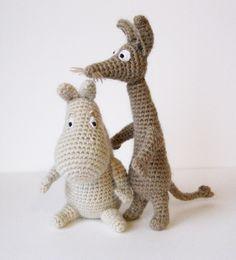 Moomin crochet