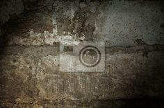 Sticker concrete wall
