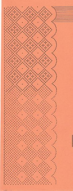 encaje Bobbin Lace Patterns, Tatting Patterns, Embroidery Patterns, Stitch Patterns, Parchment Design, Parchment Craft, Memory Box Cards, Bobbin Lacemaking, Types Of Lace