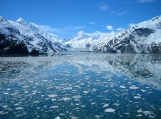 Johns Hopkins Glacier, Glacier Bay, Alaska... no more words required. EPIC. Who's for an Alaskan cruise? www.discovercruises.co.uk