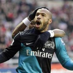 Thierry Henry - Arsenal (on loan) I miss watching EPL, Spanish La Liga, Bundes lIga, and UEFA!