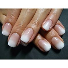 These are some of the prettiest nails I've ever seen.. wow. Ombré nails, french manicure.