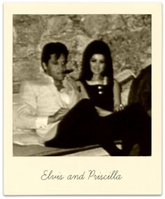 Elvis and Priscilla in Palm Springs