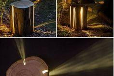 Tronchi di legno in giardino? Prendi spunto da queste 23 fantastiche idee!!!! Tronchi di legno in giardino? Prendi spunto IDEA N°1 fonte foto Tronchi di le
