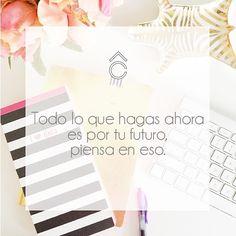 Comienza hoy para que veas los frutos mañana. #mividacrote #frases #sueña Instagram, Frases, Positive Messages, Thinking About You