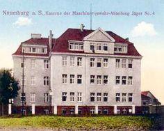 Kaserne der Maschinengewehr-Abteilung Jäger No.4, 1915