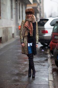 Street Style Milan Fashion Week F