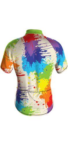 Men's Drop Cloth Performance Short Sleeve Cycling Jersey