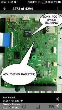 Sony Lcd, Sony Led Tv, Lcd Television, Tv Panel, Hobbies And Crafts, Circuit, Technology, Board, Places