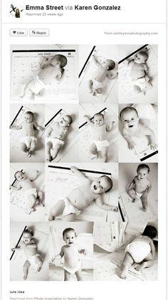 Baby Photography Ideas Baby Growth Calendar