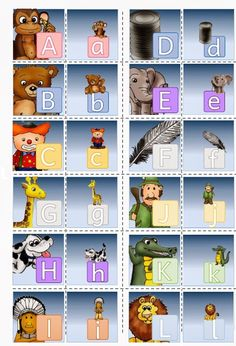 * Memory: Grote letter/kleine letter! 1-2