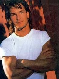 Never thought Patrick Swayze was all that handsome until I saw him in the Houston Galleria... oh, he was so handsome!