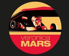 Veronica Mars MOVIE: California Noir T-shirt Design