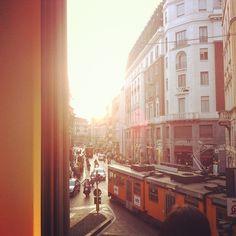 #milano #corso #magenta #italy #tram #travel